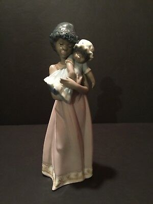 """Lladro """"Black Legacy Collection - Baby Doll (5608)"""""""