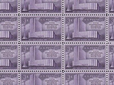 1076    Fipex  M Nh Full Sheet Of 50