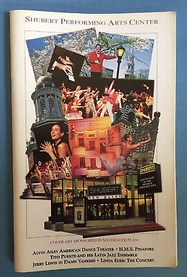 DAMN YANKEES Tour Playbill w/ Jerry Lewis + Valerie Wright (1996)
