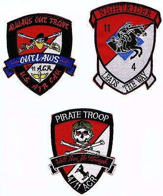 US Army Patches: 4th Squadron 11th Armored Cavalry Regiment Grouping Air Cav