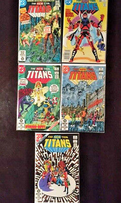 The New Teen Titans Comic Lot 1 Issues: 13 22 25 26 27 NM Never Read Condition