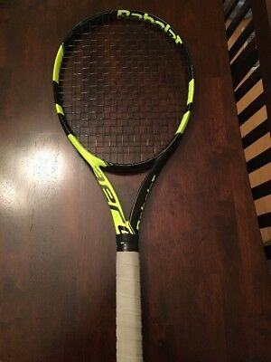 BABOLAT PURE AERO tennis racket racquet 4 1/2 Used Great Condition