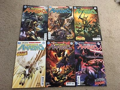 Odyssey of the amazons issues 1-6 DC comics complete