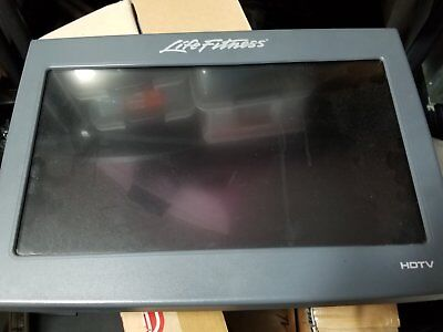 "life fitness 17"" lcd TV"