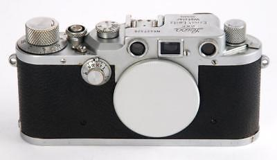 Leica IIIc Body 1946-47 # 427320 Good Condition - Slow Speeds not working