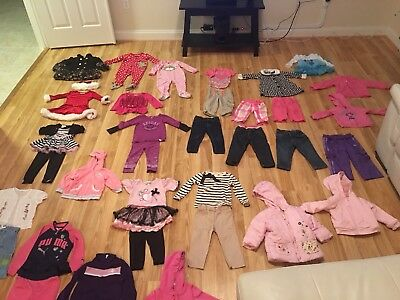 2t girls clothes lot winter