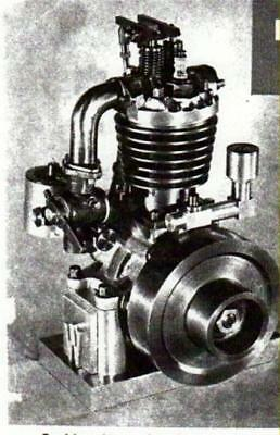 Make Gas Engine 1/2 HP Article Plans 1/2 Horse Power Gas Engine Model Plane #11