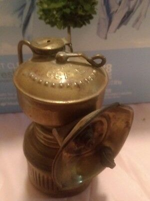 Antique gee-bee Miners Carbide Oil Lamp Lantern