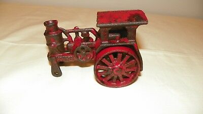 Antique Avery Cast Iron Tractor Red - Nice Antiques