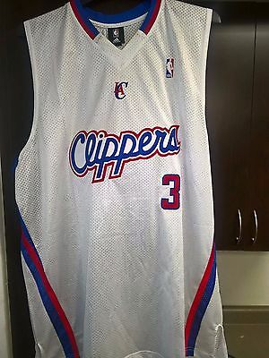 Adidas Los Angeles Clippers Men's Authentic NBA Home Court Jersey, Size 3XL