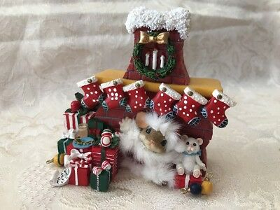 """Charming Tails """"stocking Up For Santa"""" Christmas"""