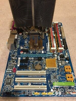 Gigabyte GA-P35-DS3L Motherboard, LGA 775 2.4Ghz CPU, 4GB RAM & Thermalright