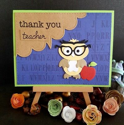 Handmade Thank You Card for Teacher *end of year* *school*