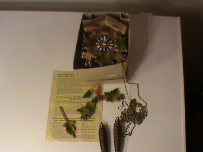 Vintage Cuckoo Clock Still in the Box