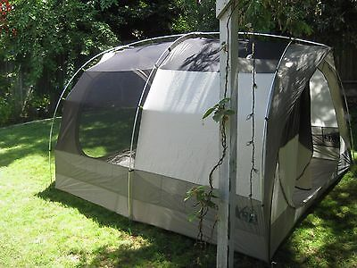 REI Kingdom 6 Tent with Garage, a 2016 model