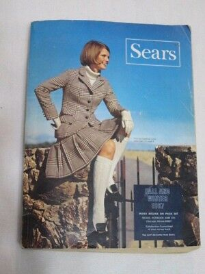 1967 Sears Fall and Winter Catalogs - Spyder Bikes, Mini Bike, Fashions