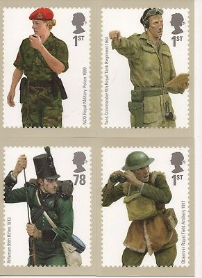 UK - MAXI CARDS with matching STAMPS - Two Different Sets
