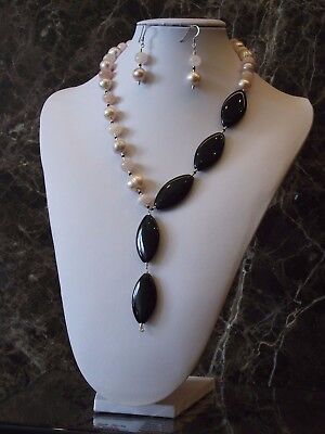 Elegant Evening - Necklace and Earrings Set