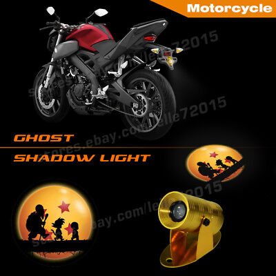 Anti-collision Motorcycle Dragonball Z master Roshi Logo Projector Shadow Lights