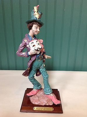 "Beautiful Duncan Royale ""mask Of The Clown"" Figurine (Original Box Included)"