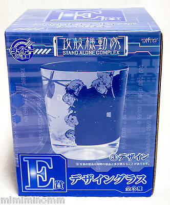 Ghost in the Shell SAC Team Art Design Glass Taito JAPAN ANIME MANGA