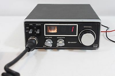SHARP CB-800 C, synthesized 23 ch.transceiver. (ref 108)