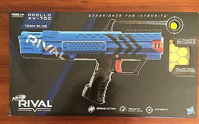 Hasbro Nerf Rival Blue Apollo XV-700 Aus Seller On Hand Best Price!