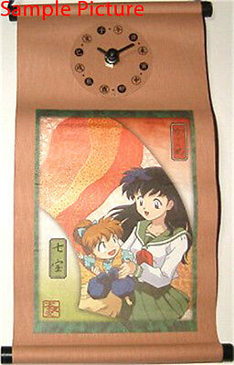 InuYasha Hanging Scroll Watch Kagome Ver. Banpresto JAPAN ANIME MANGA