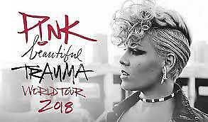 P!nk | Sydney | Friday 3Rd Aug | 2 * Ga | $450 Each