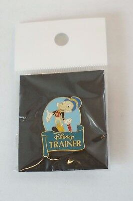 Disney World Pin Cast Exclusive Trainer Jiminy Cricket From Pinocchio