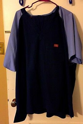 22 pc Preowned PLUS SIZE SOLID Scrubs Uniform Lot - Dickies, Cherokee, etc.
