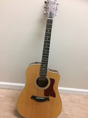 Taylor Acoustic 210ce Guitar - Recently set up -  Case included