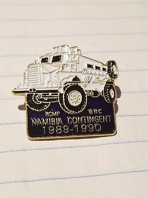 RCMP Namibia Contingent Pin - Very Rare 1989 - 1990