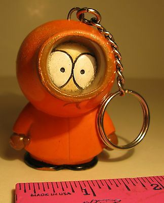 1998 Comedy Central Kenny Keychain Figurine South Park Kenny Figure Keychain