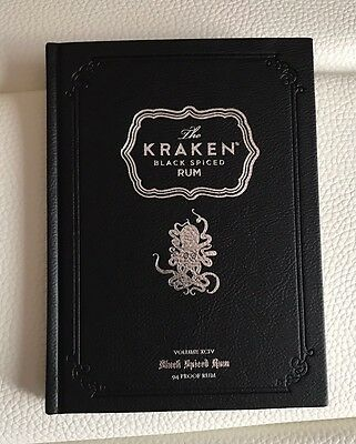NEW Kraken Rum The Book Octopus Design NEW