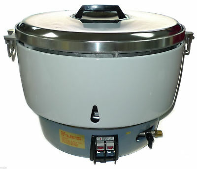 NEW Huei NATURAL Gas Commercial Rice Cooker (50 Cups)