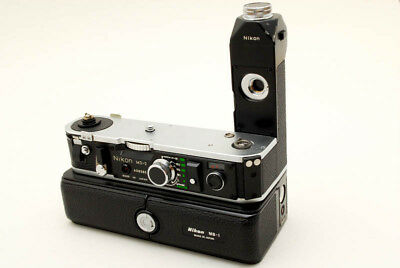 【Near Mint】Nikon MD-2 Motor Drive with MB-1 Battery Pack for F2 from Japan 0203N