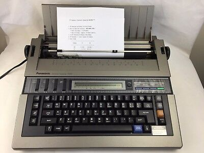 Panasonic -  Electronic Typewriter - R350 - With Accu Spell Plus -Good Condition