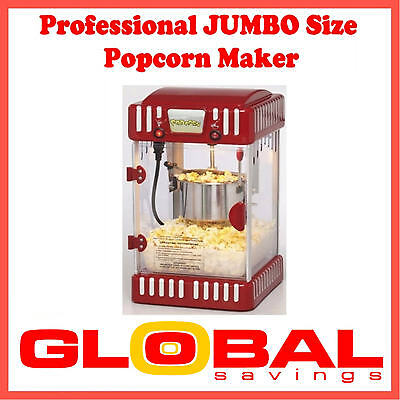 New 4.5Ltr Classic Series Jumbo Size Professional Popcorn Maker Machine Rpp$199