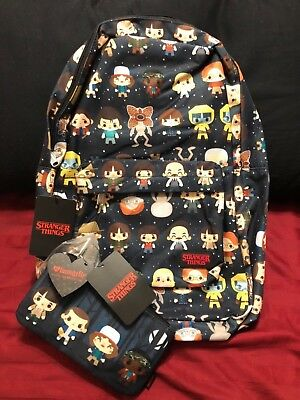Loungefly StrangerThingsBackpack NYCC 2017 Exclusive Limited Ed ONLY300 pcs MADE