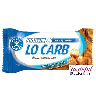 Protein Fx Lo Carb Salted Caramel 30g x 12