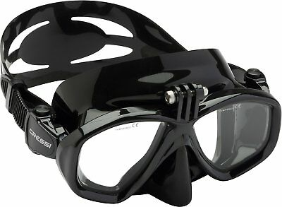 Cressi Action Mask Snorkel Face Diving Spearfishing Freediving DS415050