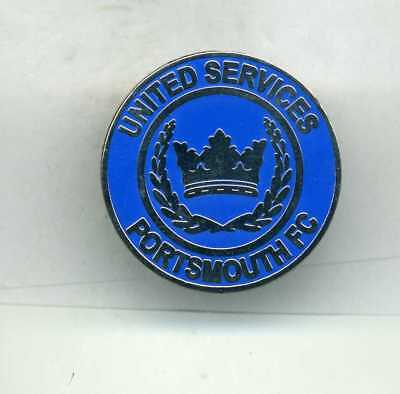 United Services Portsmouth  Fc  Non League Football Pin Badge