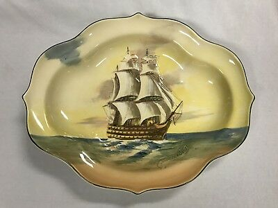 Royal Doulton Famous Ships HMS Victory Made In England For Australian Export