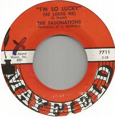 Fascinations Im So Lucky Northern Soul