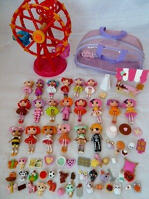 Mini Lalaloopsy Large Collection Of Dolls, Accessories, Pets, Ferris Wheel