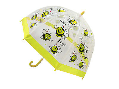 Bugzz Kinder Stuff Kinder PVC Regenschirm - Happy Bee