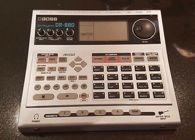 BOSS Dr. Rhythm DR-880 (includes UK power supply and manual)
