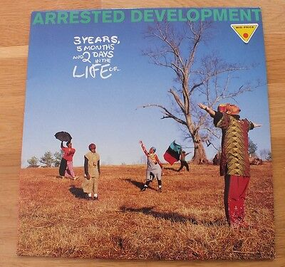 Arrested Development – 3 Years 5 Months And 2 Days In The Life – LP Vinyl