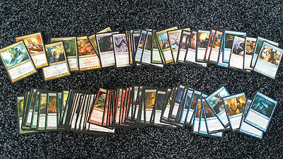 MTG Magic The Gathering 100 different cards collection inc rares and uncommons